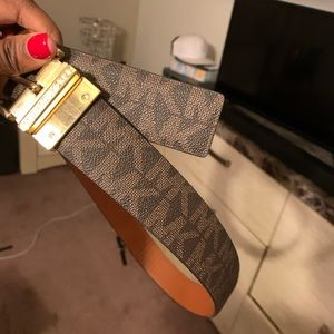 Authentic micheal kors belts brand new
